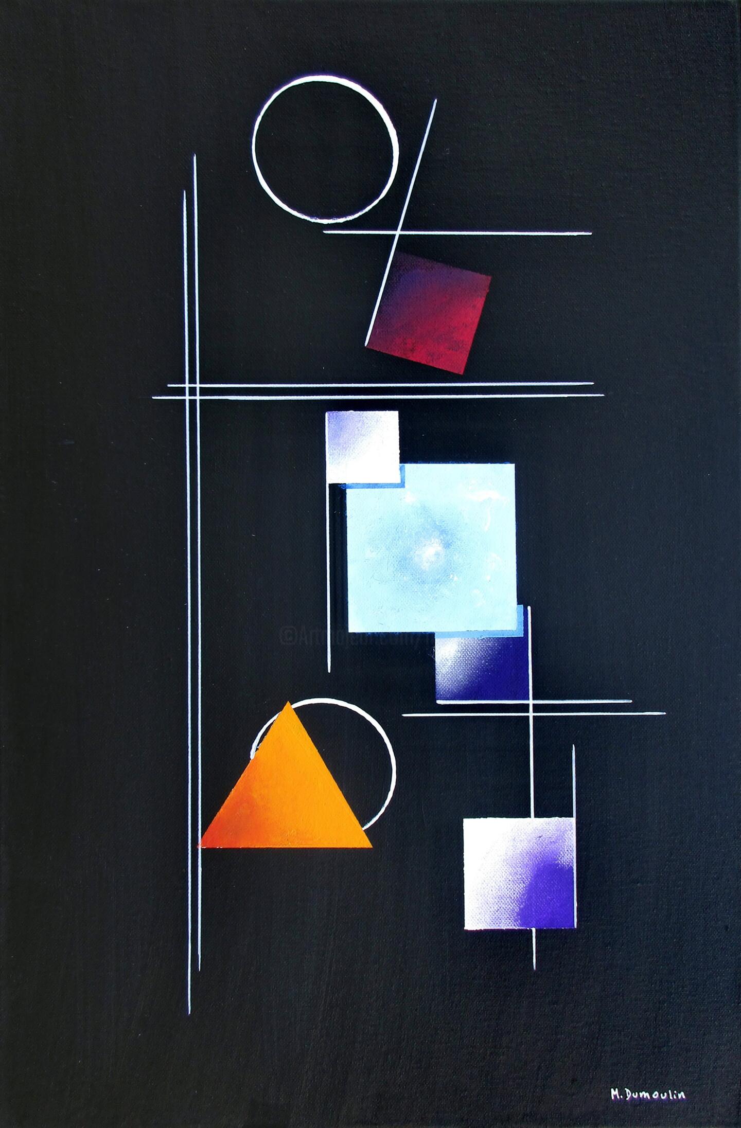 """Martial Dumoulin - """" Nébuleuse """""""