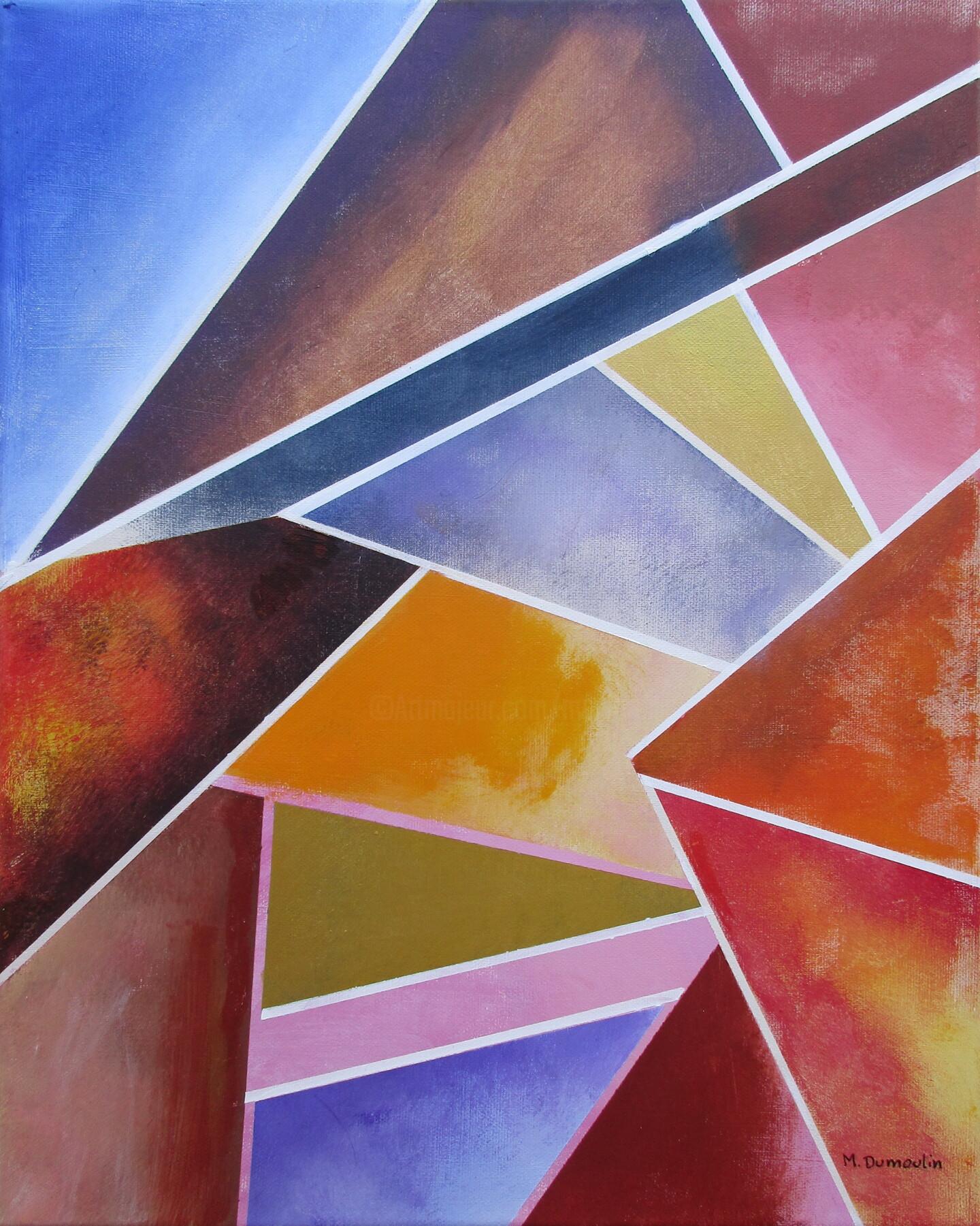 """Martial Dumoulin - """" Couché de soleil """""""
