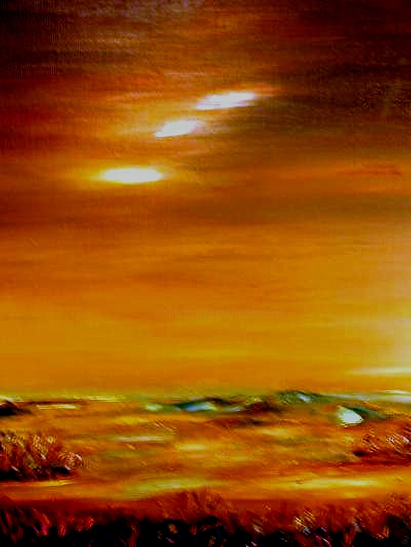"Martial Dumoulin - "" Cataclysme """