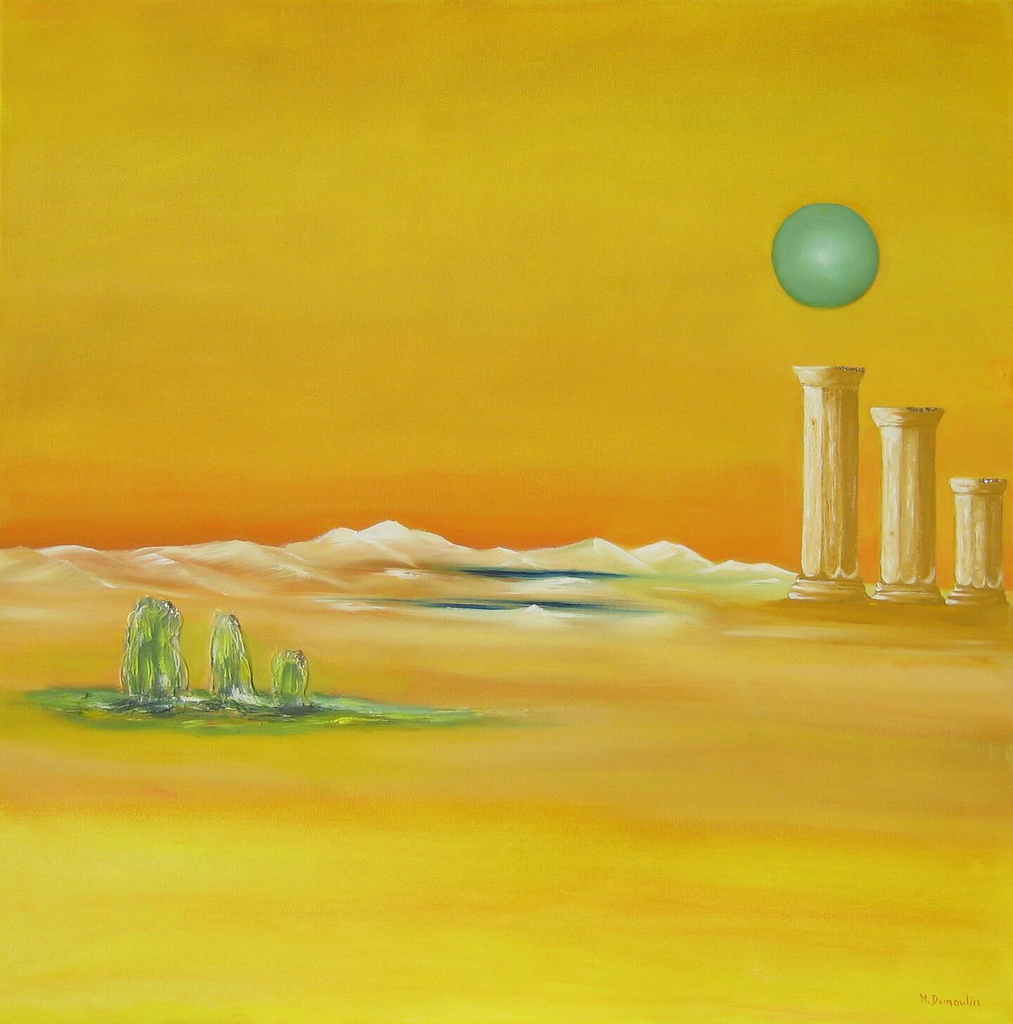 """Martial Dumoulin - """" Vert de lune """""""